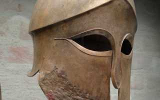 Шлем греческого Гоплита своими руками