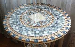 Мозаика своими руками. Ящерка на столешнице (фото, мастер-класс)