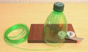 Бутылкорез – приспособа из канцелярского ножа и уголка