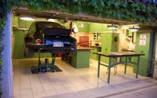 Подъемник в гараже своими руками