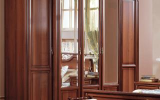 Шкаф распашной сенатор орех (фото)