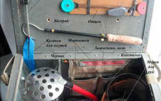Рыболовный ящик своими руками