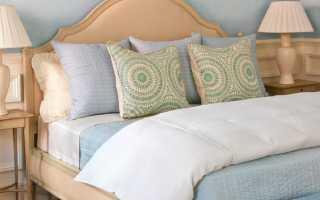 Простая и стильная самодельная кровать