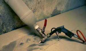 Как сделать пескоструйный аппарат для гаража своими руками