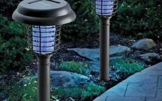 Оригинальные садовые фонари