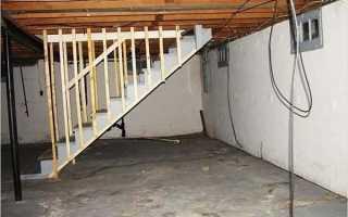 Самодельная лестница в гараж