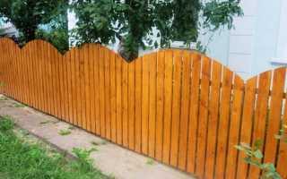 Как сделать красивый и простой деревянный заборчик на дачу