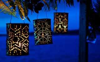 Садовый светильник своими руками (мастер-класс, фото, чертежи с размерами)