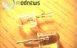 Светящиеся светодиодные трубки своими руками