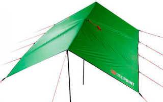 Тент вместо палатки