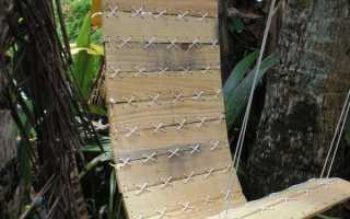 Кресло-гамак из деревянного поддона своими руками