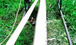 Самодельная ленточная пилорама (видеоподборка)