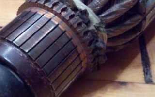 Ремонт коллектора своими руками гальваническим наращиванием