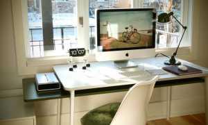 Крутая столешница для компьютерного стола с подсветкой