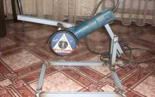 Самодельная стойка для УШМ (болгарки) из фанеры