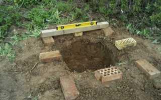 Строительство туалета на даче