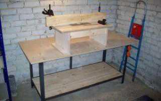 Стол для фрезера (полный проект, чертежи для самостоятельного изготовления)