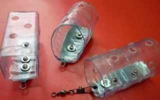 Применение пластиковых бутылок на рыбалке (верша-малявочница, плавающая жерлица, пенал для поплавков, кормушка)