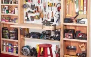 Рабочее место в домашней мастерской своими руками от Александра Павлова