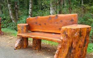 Деревянная скамейка своими руками (фото, мастер-класс, поэтапно)