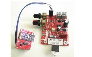 Точечная сварка для Li-Ion аккумуляторов