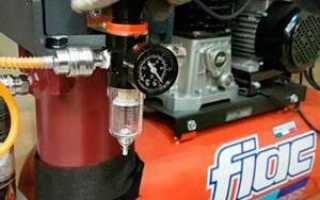 Самодельный влагомаслоотделитель для компрессора