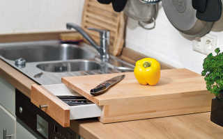Разделочная доска с ящиком для ножей (пошаговый мастер-класс)