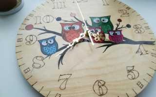 Самодельные настенные часы для дома (мастер-класс, 11 фото)