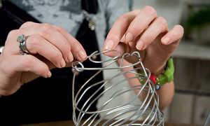 Декупаж абажура: как обновить светильник или торшер своими руками