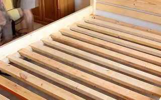 Кровать из массива сосны своими руками