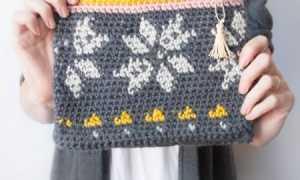 Яркая сумочка крючком для девочки: МК для начинающих