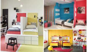 Детская (две кровати, перегородка между кроватями и собственно сама горка) (фото)
