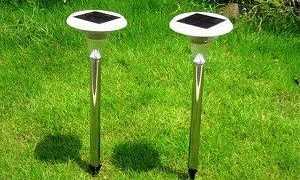 Уличный светильник на солнечных батареях