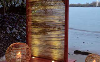 Великолепная мини-терраса для отдыха с подсветкой (пошаговый мастер-класс, фото, чертежи)