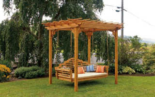Сделай сам – садовый диван-качалка