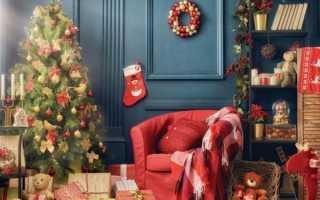 Новогодний декор. Декорирование к Новому году и Рождеству (78 фото)