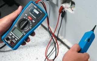Простой детектор проводки своими руками на основе мультиметра