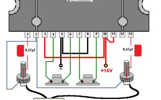 Самодельный усилитель на микросхеме TDA8560Q (2х40 Ватт)