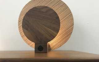 Как сделать настольную лампу с деревянным основанием (мастер-класс, фото)