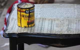 Реставрация и переделка. Обновляем старый стол своими руками
