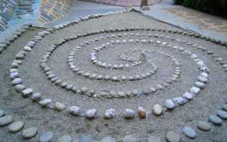 Идеи для дачи. Вода и камни (19 фото дачных идей)