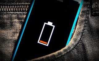 Зарядка телефона в походных условиях