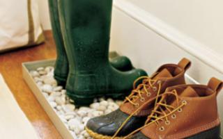 Сушилка для обуви из ПВХ труб
