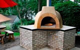 Печь для пиццы и пирогов своими руками на свою любимую дачу