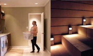 Делаем освещение в квартире по датчику движения