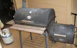 Самодельная печь из двух железных бочек