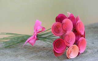 Удивительный механический цветок тюльпан – подарок на 8 марта своими руками