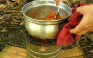 Самодельная печь для готовки на опилках своими руками (фото, принципы, схемы)