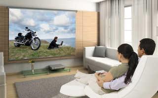 Как смотреть HD фильмы со смартфона на стене! Простенький домашний кинотеатр своими руками